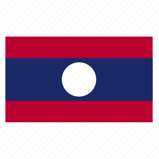 asia, asian, country, flag, lao, laos icon