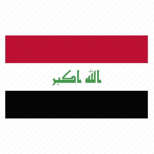 country, flag, iraq, iraqi, irq, middle icon