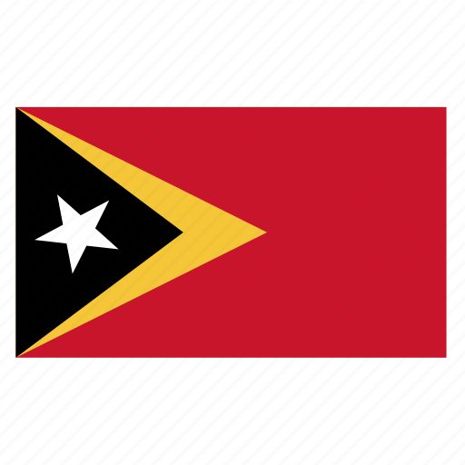eastcountry, flag, leste, timor, tls icon