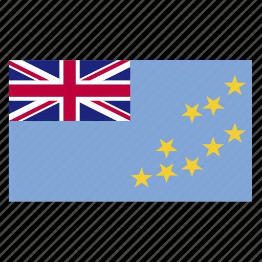 country, flag, funafuti, tuv, tuvalu, tuvaluan icon