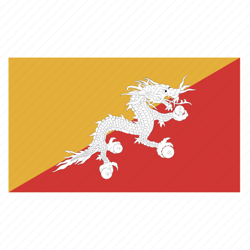 asia, asiancountry, bhutan, bhutanese, btn, flag, ngultrum icon