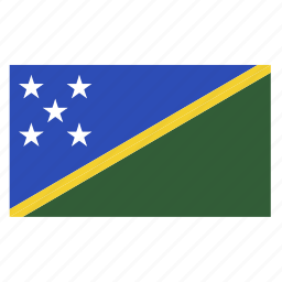 country, flag, honiara, islands, slb, solomon, solomon islands icon