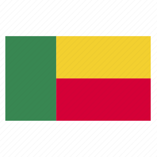 africa, africancountry, ben, benin, flag icon