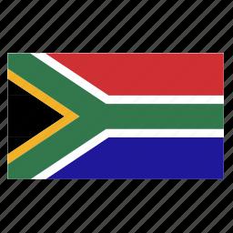 africa, country, flag, pretoria, south, zaf icon