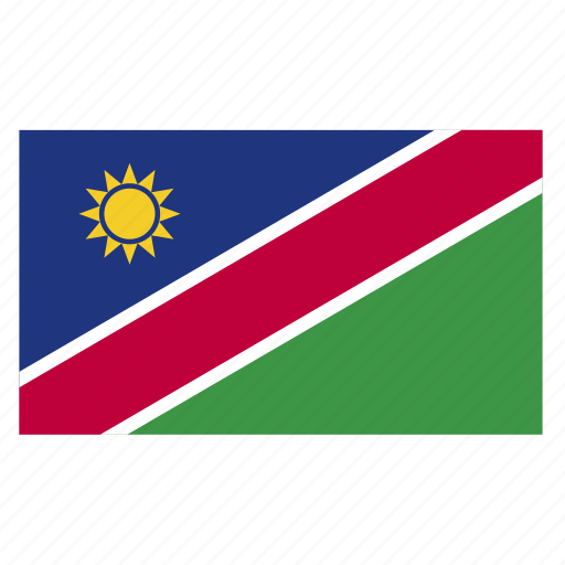africa, country, flag, nam, namibia, namibian, southern icon