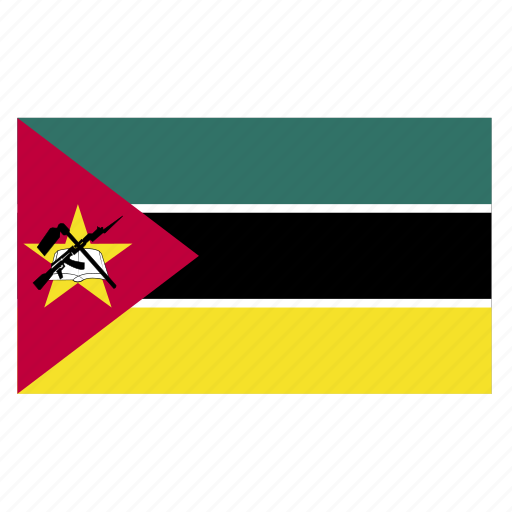 africa, african, flag, moz, mozambicancountry, mozambique icon