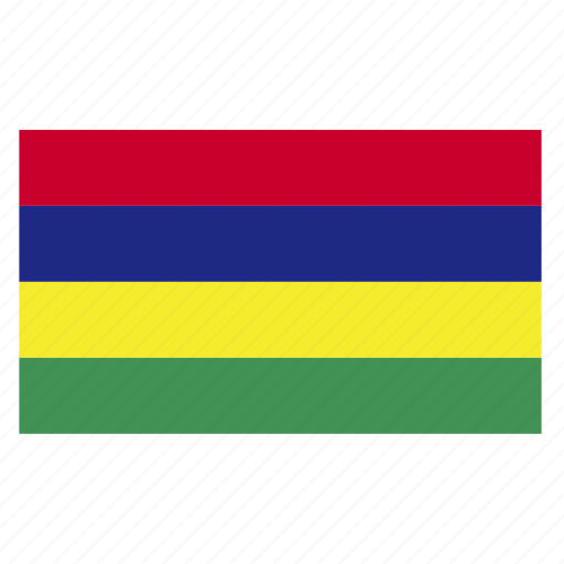 africa, country, east, flag, mauritius, mus icon