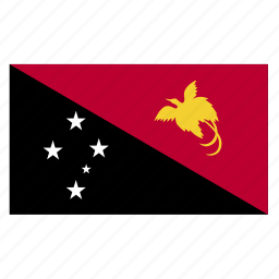 country, flag, guinea, guinean, new, papua icon