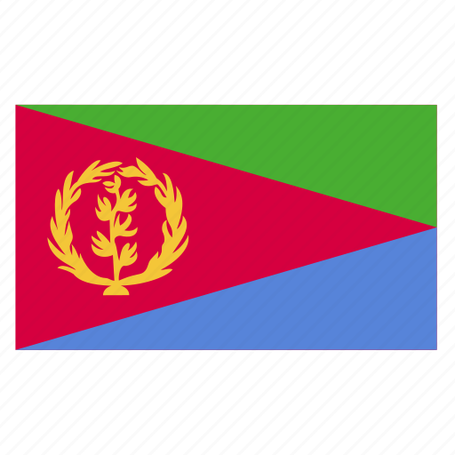 africa, african, country, eri, eritrea, eritrean, flag icon