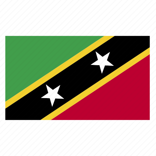 and, country, flag, kitts, kna, nevis, saint icon