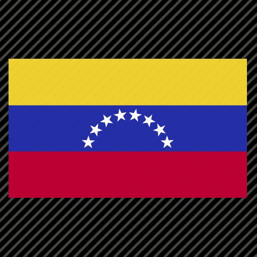 country, flag, ven, venezuela icon