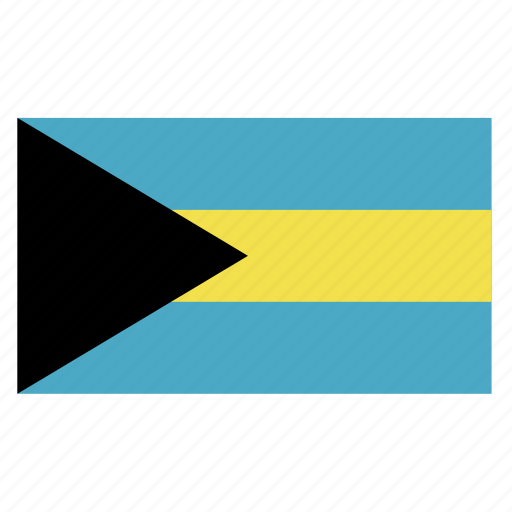 bahamas, bahamian, bhs, caribbean, country, flag icon