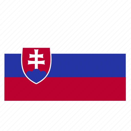 country, europe, flag, slovakia, slovakian, svk icon