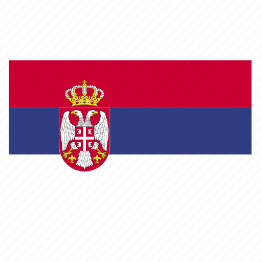 country, europe, flag, serbia, serbian, srb icon