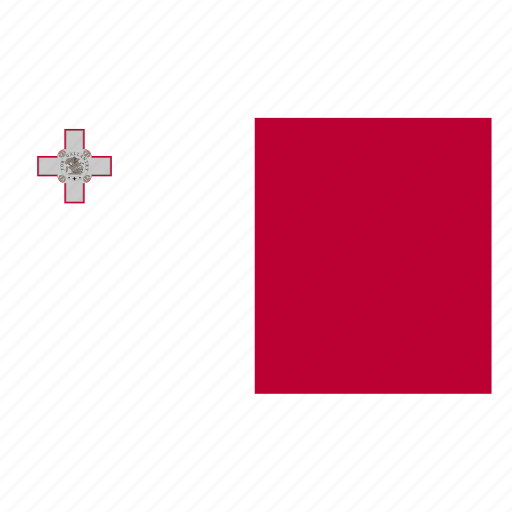 country, europe, european, flag, malta, mlt, qmaltese icon