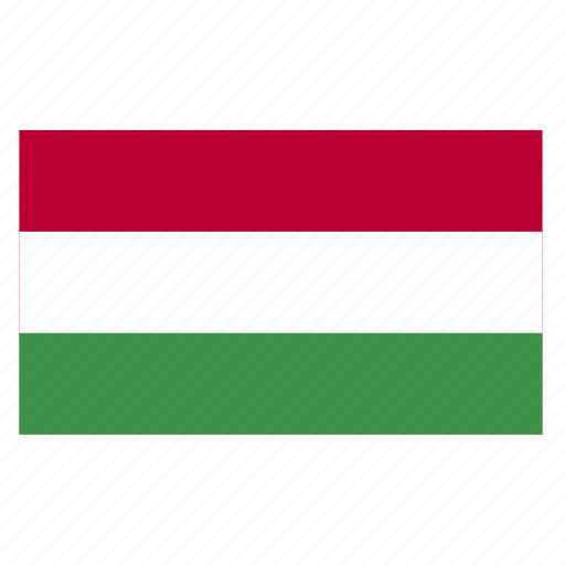 country, europe, europen, flag, hun, hungarian, hungary icon