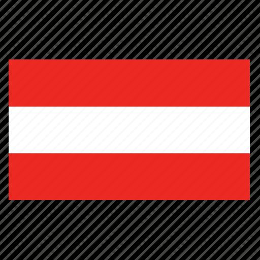 austria, austrian, aut, country, europe, european, flag icon
