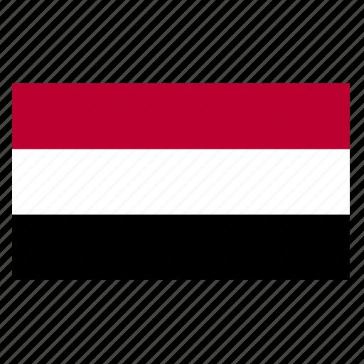 country, east, flag, middle, yem, yeman, yemeni icon