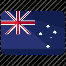 australia, flag, oceania icon