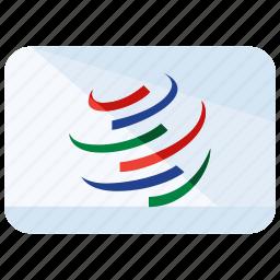 company, flag, international icon