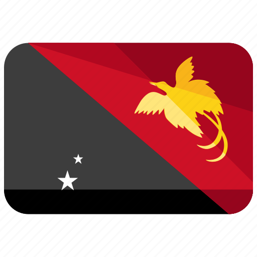 flag, guinea, papua icon
