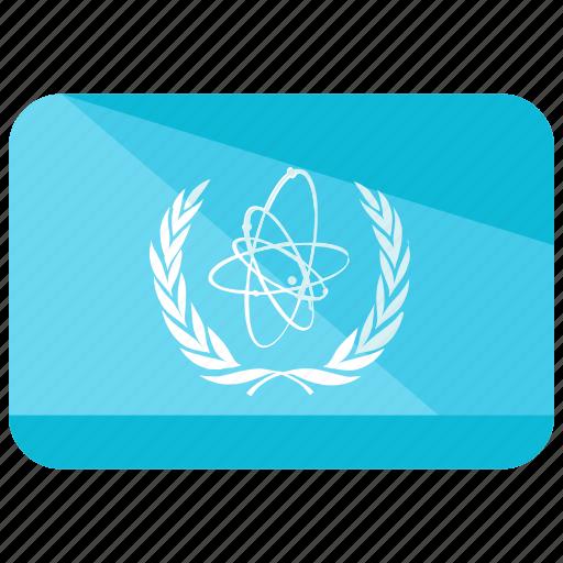 company, flag, science icon