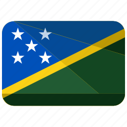country, flag, islands, location, map, solomon, world icon