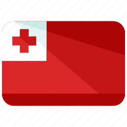 country, flag, location, map, tonga, world icon