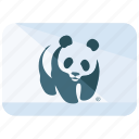 animal, flag, fund, logo, protection, wildlife, world icon