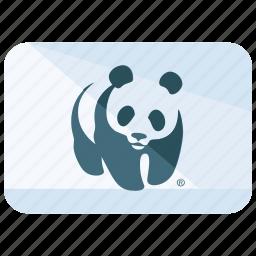 animal, flag, fund, logo, protection, wildlife, world icon
