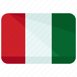 africa, coast, country, flag, ivory, map, nation icon