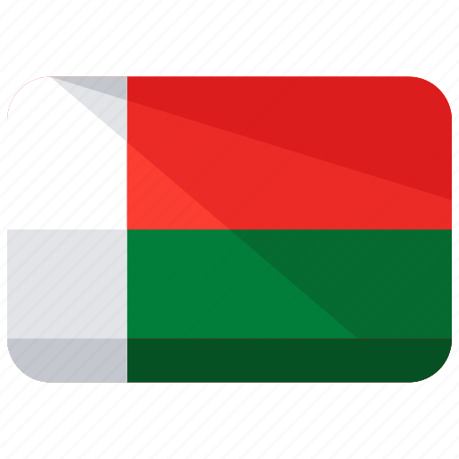 country, flag, location, madagascar, map, nation icon