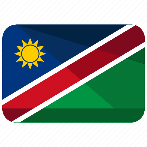 country, flag, location, map, namibia, nation icon