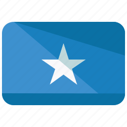 africa, country, flag, location, map, nation, somalia icon