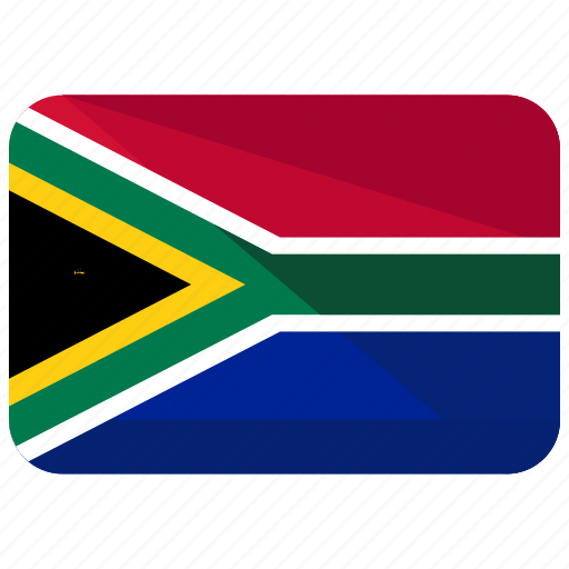 africa, country, flag, location, map, nation, south icon