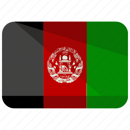 afghanistan, asia, country, flag, location, map, nation icon