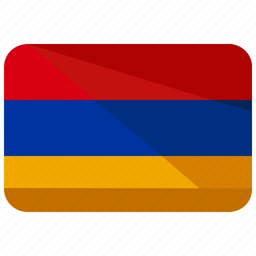 armenia, asia, country, flag, location, map, nation icon