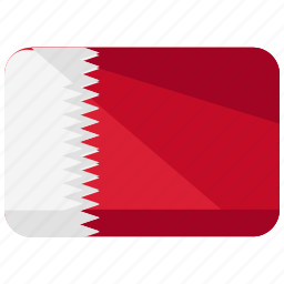 asia, bahrain, country, flag, location, map, world icon