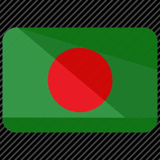 bangladesh, country, flag icon