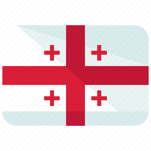 country, flag, georgia icon