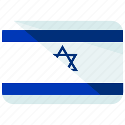 asia, country, flag, israel, location, map, world icon