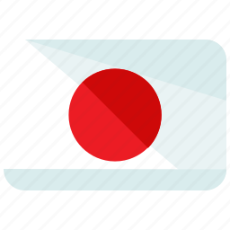 asia, country, flag, japan, location, map, world icon