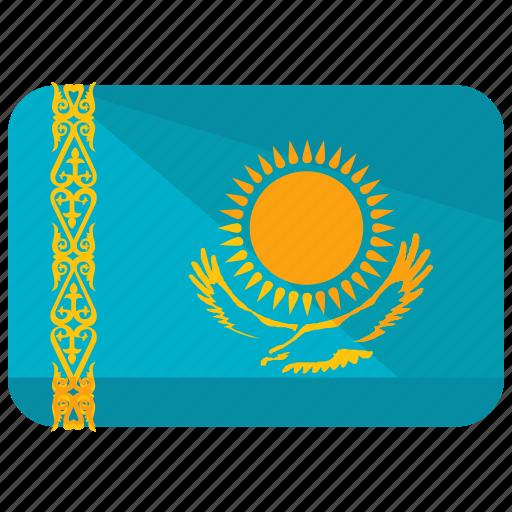country, flag, kazakhstan icon