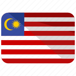 asia, country, flag, location, malaysia, map, world icon