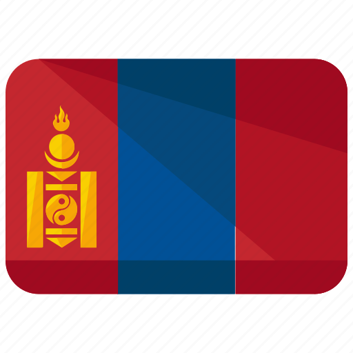 asia, country, flag, location, map, mongolia, world icon