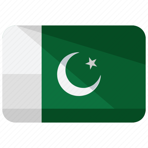 asia, country, flag, location, map, pakistan, world icon