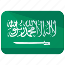 arabia, country, flag, saudi icon