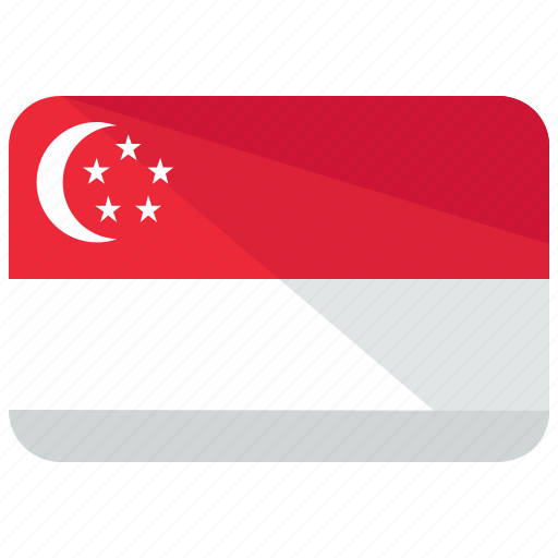 asia, country, flag, location, map, singapore, world icon