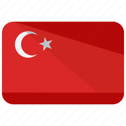 asia, country, flag, location, map, turkey, world icon