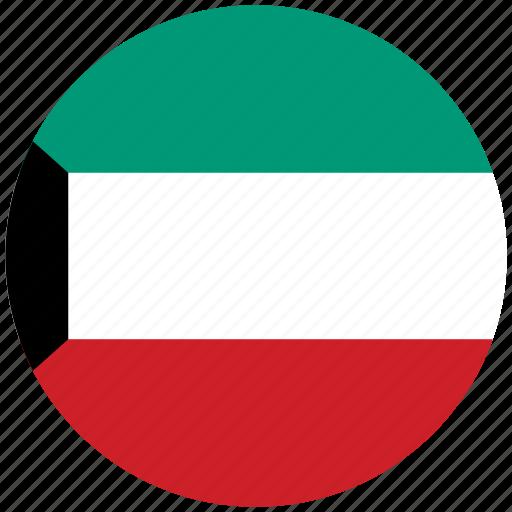 flag of gaza, gaza, gaza's circled flag, gaza's flag icon